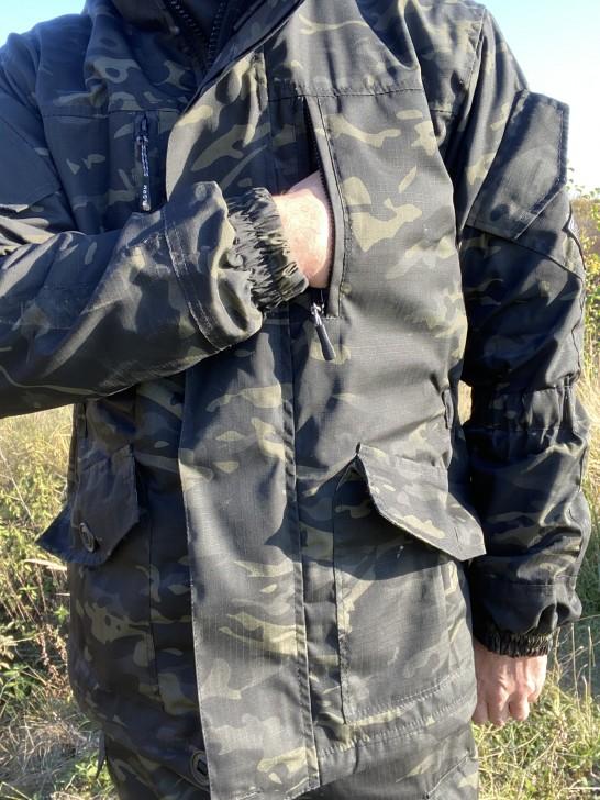 Костюм горка 5 черый Нато, демисезонный