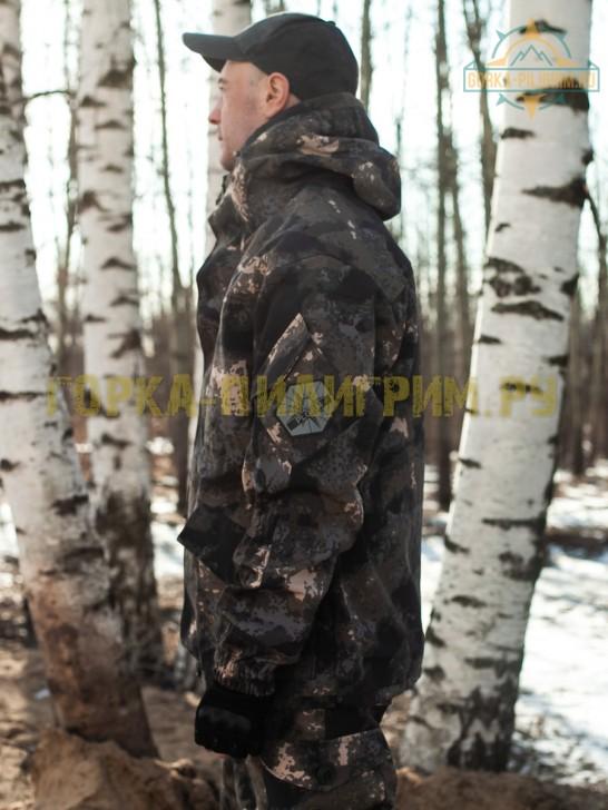 Костюм горка 5 черный питон, демисезонный
