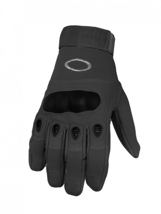 Перчатки тактические полнопалые, черные