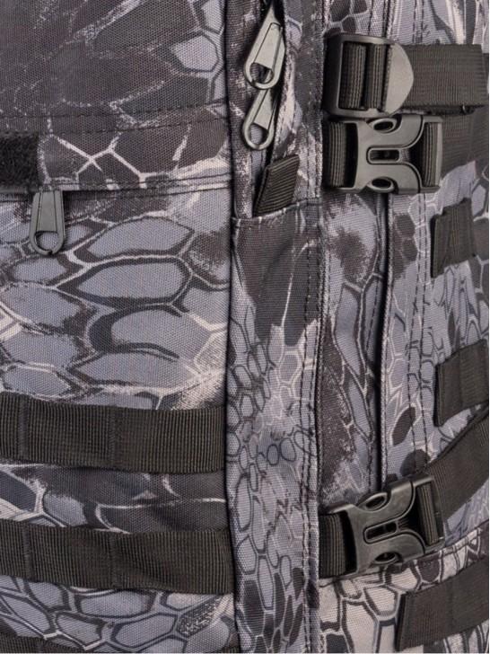 Рюкзак тактический 40л, Черный питон