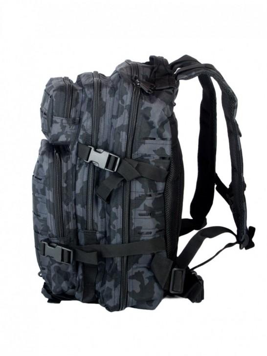 Рюкзак тактический 28 л, Черный мультикам