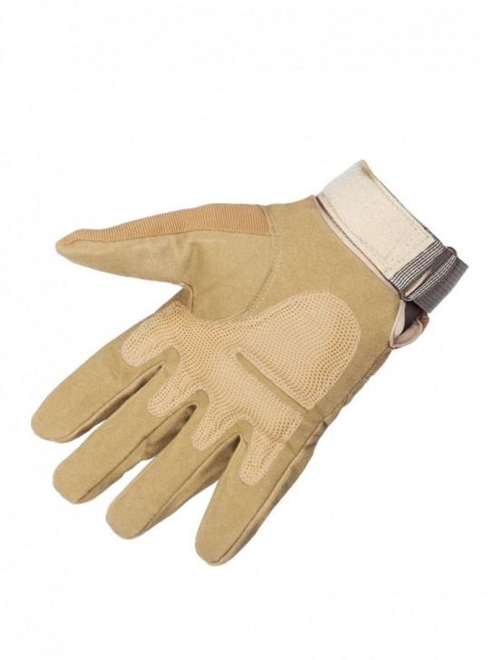 Перчатки тактические полнопалые, песок