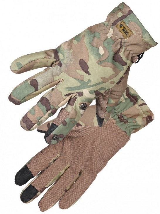 Перчатки тактические нейлоновые Gongtex 3M-Thinsulate, Мультикам