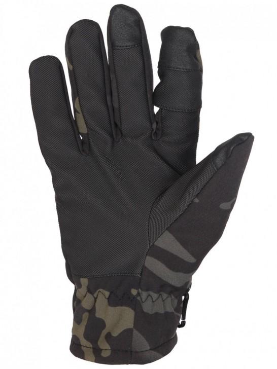 Перчатки тактические нейлоновые Gongtex 3M-Thinsulate, Черный мультикам
