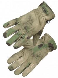 Перчатки тактические нейлоновые Gongtex 3M-Thinsulate, Мох